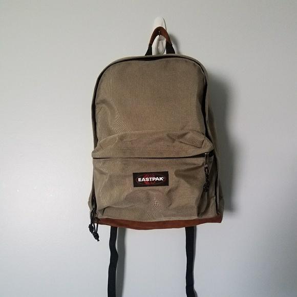 5e3d2e47e8b5 Eastpak Handbags - Vintage Eastpak Canvas Suede Backpack
